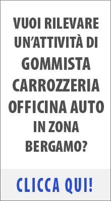 Attività commerciale di Gommista Carrozzeria Auto Officina in vendita zona Verdello Bergamo