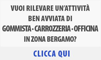Attività commerciale di Gommista Carrozzeria Officina Auto in vendita zona Verdello Bergamo