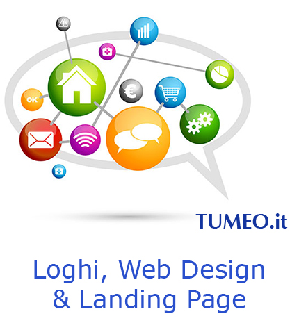 TUMEO web agency - loghi design landing page