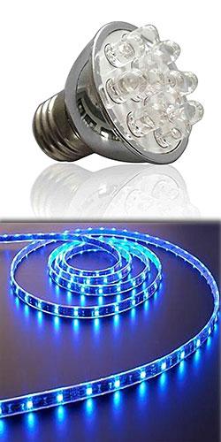 Tipi di illuminazione e consumi for Tipi di lampade a led