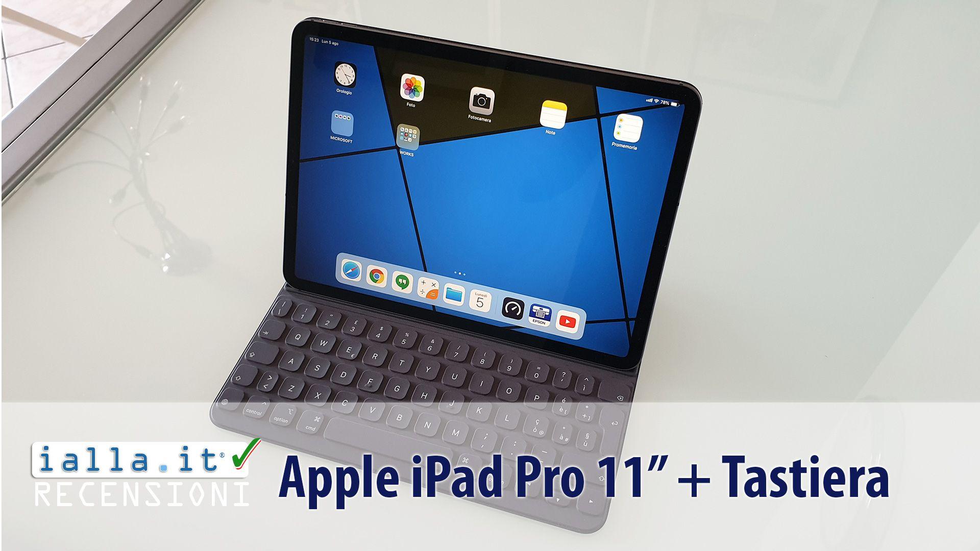 Si può collegare una tastiera regolare per un iPad