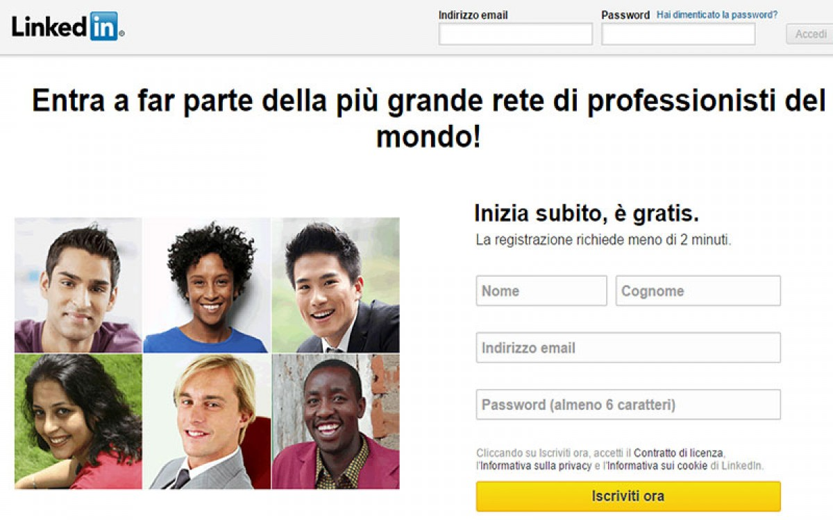 LinkedIn, come e perchè registrarsi